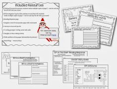 Classroom resources for your elf on the shelf