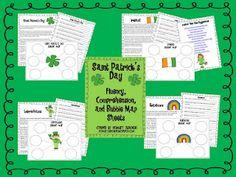 St. Patrick's Day fluency packet freebie
