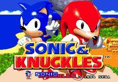sonic and knuckles - sega genesis