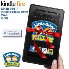 Go win a Kindle!