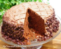 My Crowded Kitchen: Chocolate Lover's Chocolate Cake Recipe