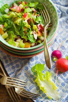 chopped winter salad - from Healthy Seasonal Recipes