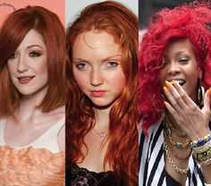 ginger recessive gene | Rihanna has ditched her tomato red hair for this month's cover of ...