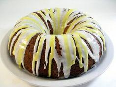 Heavenly, Skinny Lemon Poppy Seed Bundt Cake