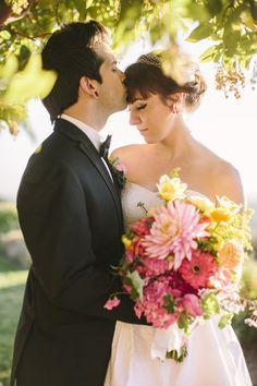 Retro Cocktail Wedding Ideas captured by Danielle Capito - via ruffled