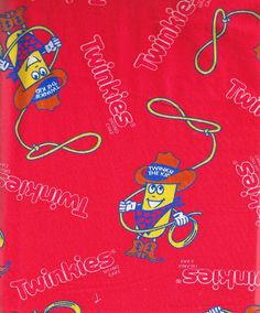 TWINKIES Fabric Twinkie the Kid Cotton FREE by SewReallyCute