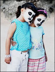 Riviera Maya, Mexico -day of the dead makeup