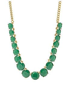 Fossil® Green Glass Stones Chain Necklace #belk #gifts #jewelry