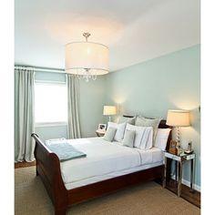 Master Bedroom  Benjamin Moore Palladian Blue HC 144