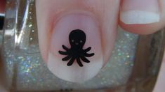 Octopus Nail Art Decals Set of 20 Vinyl Stickers by thefogshoppe, $1.99