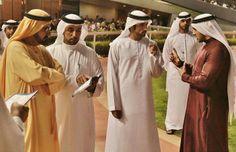 Hamdan and Rashid MRM, on Super Saturday (10/03/2012) Photo: Abdulrahman Al Mulla