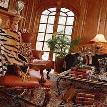 Living room on pinterest safari theme safari living for Safari themed living room ideas