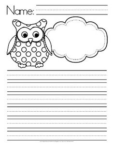 "teachers give a hoot | ... Resources: ""Kinder Teachers Give a Hoot"" Math & Literacy Worksheets"