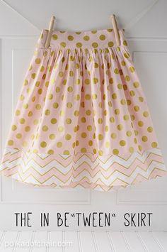 Cute girl skirt tutorial