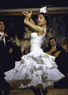 Flamenco dancer Maria Albaicin, 1960. Pto by Loomis Dean | Flickr - Photo Sharing!