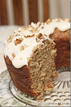 Southern Living Humming-bird Bundt Cake-my Momma always made this in a 3 layer with lots of cream cheese frosting!♥! Some paid $50.00 at fundraisers because this cake is delish!