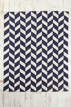 5x7 Herringbone Rug  Pin a Room, Win a Room: Enter to win the best room ever from Urban Outfitters!