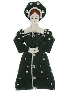 Tudor Christmas ornaments.
