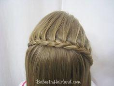 Lace Braid Headband | BabesInHairland.com
