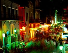 New Orleans - nighttime