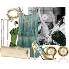 Roaring Twenties. Like the dress and especially the shoes.
