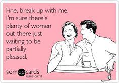 There's plenty of women