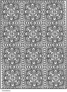 lotus design coloring page #free #printable #coloring #kids #diy #crafts