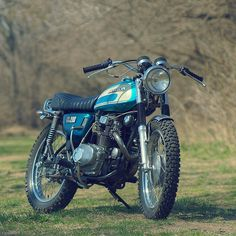 Good things come in small packages: met Dan Mantyla's delightful 1974 Honda CL resto-mod.