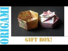 craft, origami inspirationinstruct, box base, box bottom, ribbon bows, origami daili, piec hexagon, hexagon box