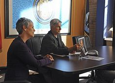 "NCIS. Gibbs and Dr. Ryan. My review for ""Up in Smoke."""