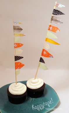now that's a cupcake flag!