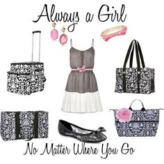 Girl, I know how busy you are!! But Thirty One is here to always make sure you are looking good, no matter where you have to go.  Black Parisian Pop plays off of any outfit, whether you are going on a picnic or to the store with our Making Memories Thermal and Large Utility Tote.  Or, perhaps on a trip with the Expand-A -Tote and Organizing Utility Tote.  Pieces that will simplify your life...that is Thirty One!
