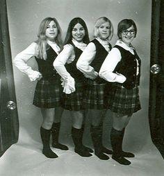1971-1972 Alma College Kiltie Lassies :: Archival photographs
