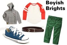 Boyish Brights- toddler boy style