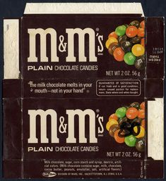 Vintage/old school plain M featured in The Dieline