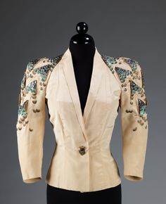 Evening jacket by Elsa Schiaparelli, ca. 1939.