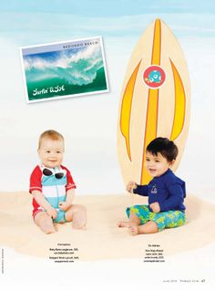 "California Dreamin'! Surf's Up with Pregnancy and Newborn Magazine's ""mod squad."" Check out their picks for summer on the coast!"