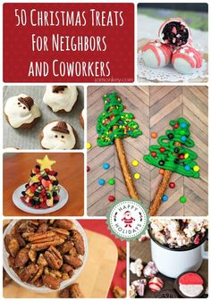 I LOVE making holiday treats and goodies for my neighbors and my husbands co-workers. It's something simple and tasty you can do for them to show that you care.