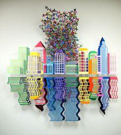 Diary shnay paper cut art