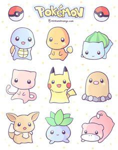 Cute adorable - mini - pokemon ♥️