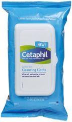 Cetaphil Gentle Skin Cleansing Cloths, no rinsing needed