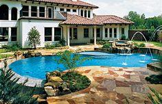 swimming pools, swim pool, freeform pool, outdoor pools