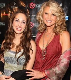 Christie Brinkley with daughter Alexa Rae Joel