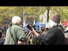 """Crosby & Nash at #OWS. I've never been a bigger fan than now. Love seeing the icons of my generation """"serenade"""" this generation's revolution."""