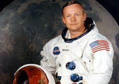 Neil Armstrong 1930-2012 the mission commander of the Apollo 11 moon landing mission, was the first person to set foot on the moon