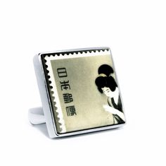 Letters from Japan Ring By Clizia Ornato - Clizia Ornato, on Designeros.com $160.00 #designeros