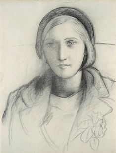 Love this drawing - Marie-Thérèse Coiffee d'un Beret by Pablo Picasso