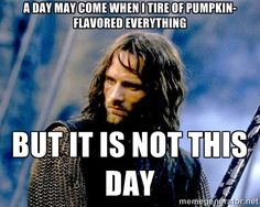 a day may come when i tire of pumpkin-flavored everything but it ...
