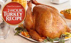 Exclusive 2-Hour(TM) Turkey Recipe | Safeway