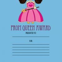 Give a like for free printable awards! #prom #queen